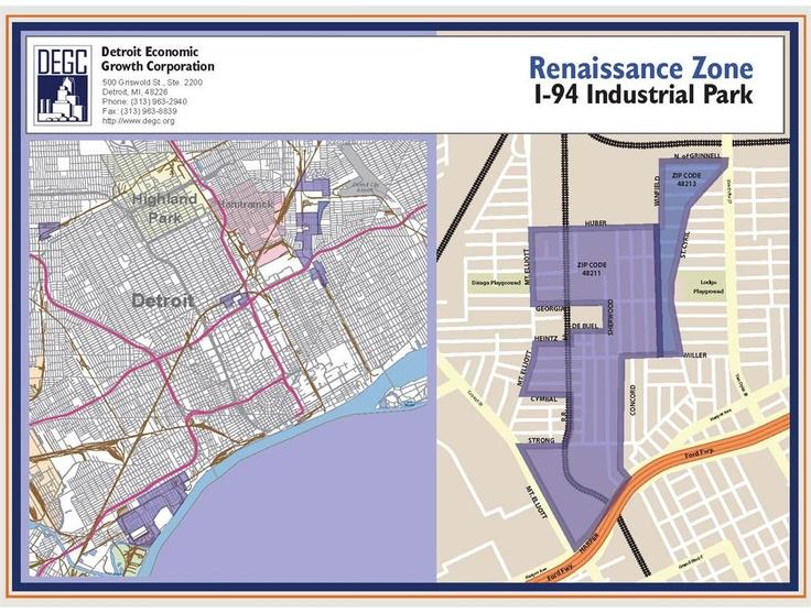 I94 Industrial Park Renaissance Zone  CitySCAPE 2