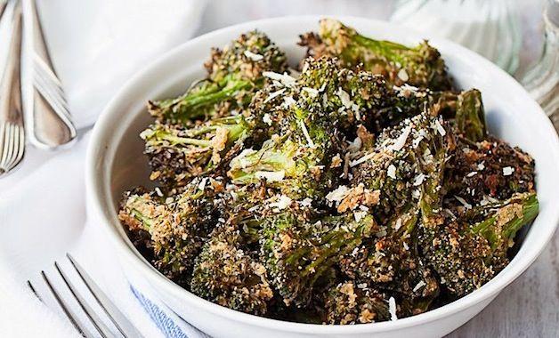 Crispy Oven-Roasted Broccoli and Garlic | Recipe