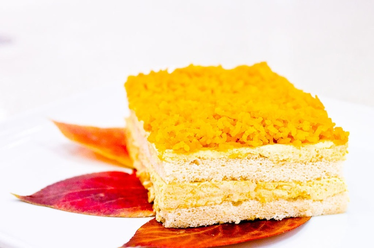 Gojee - Pumpkin Honey Mousse Cake | Recipes to try - Cakes | Pinterest