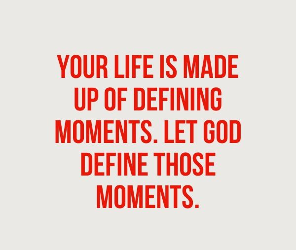 a defining moment in my life A defining moment of leadership was when i started my re‐invention of myself (return to a career/calling while juggling life and family responsibilities) 4.
