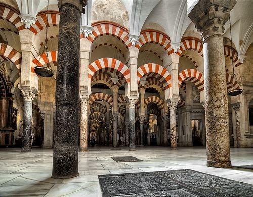 Mezquita Cathedral - Moorish architecture images