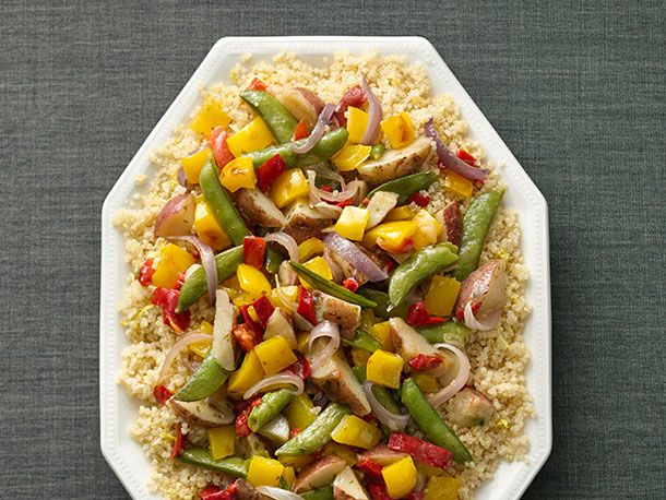 Green Giant Garden Vegetables with Lemon-Scented Quinoa | Serious Eats