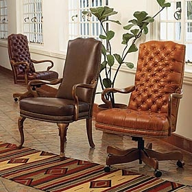 Leather Chairs From King Ranch King Ranch Saddle Shop Pinterest