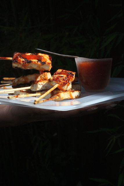 Barbecued Tofu | let's see PARTY IDEAS | Pinterest
