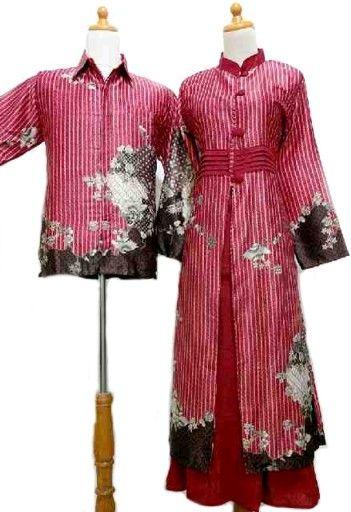 sarimbit-gamis-SG124 | Batik Sarimbit | Pinterest