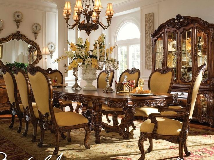 Rococo Style Dining Room Luxury Living Pinterest