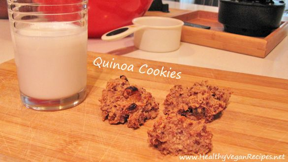 Quinoa Cookies - not sure if this is the same recipe I posted before ...
