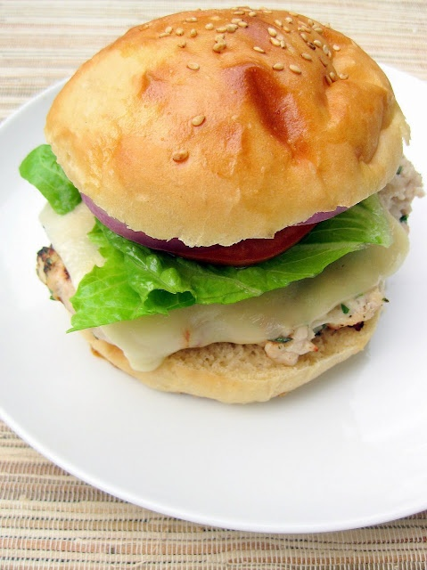 Herbed Turkey Burgers | Food | Pinterest