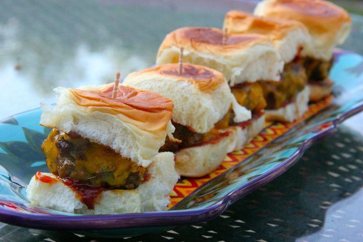 Red Hot BBQ Beef Sliders | Foodie | Pinterest