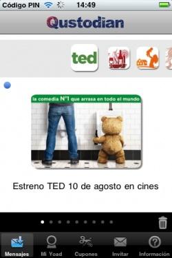 Estreno de #TED, la comedia del verano @Universal_Spain @Mindshare #MarketingMovil