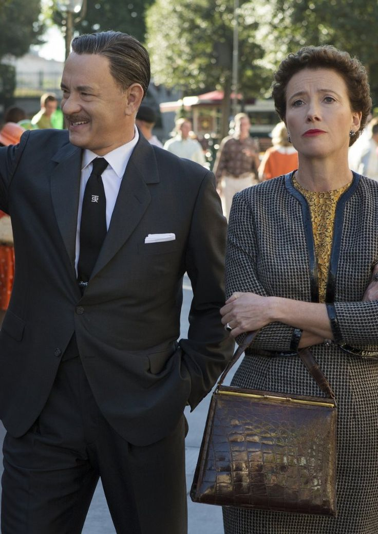 Saving Mr. Banks (2013) Poster-  I fell head over heels for this movie. Incredible. Always making me remember why I love Mary Poppins.