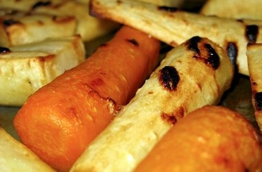 Maple Roasted Carrots and Parsnips | Vegetables! | Pinterest