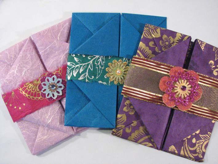 Handmade envelopes envelopes pinterest for Homemade envelopes