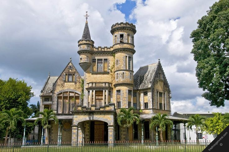 Most Beautiful City In The World together with View as well Chateau Desert Jordanie in addition Trini furthermore Zamosc. on trinidad and tobago architecture