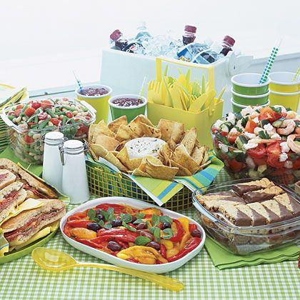 memorial day picnic menu