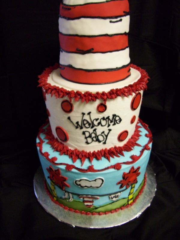 dr seuss cake baby shower ideas pinterest