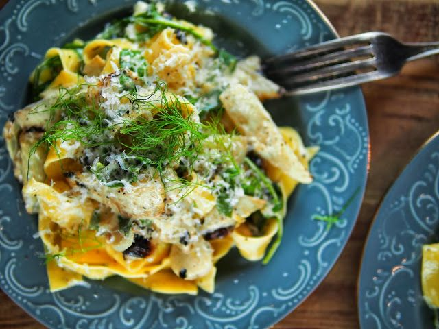 Pasta with Fennel, Arugula & Lemon. Highly edited to include green ...