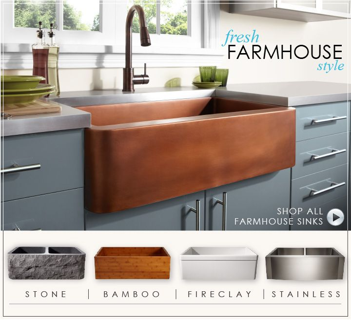 Farmhouse Sink Cost : Farmhouse Sink- This eight has a great selection and the prices are ...