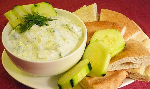Cucumber Yogurt Dip | I Like Food !! - Dips | Pinterest