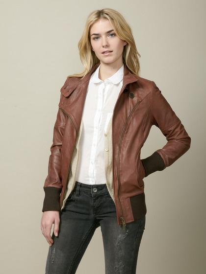 Soia & Kyo Elena Leather Motocross Jacket - Polyvore
