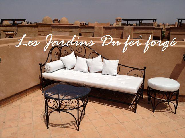 Salon De Jardin En Fer Forge Marocain - onestopcolorado.com -