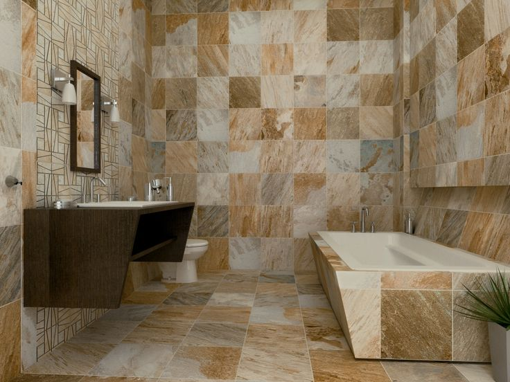 Azulejos Para Baño De Interceramic:Interceramic Slate Supremo Tile