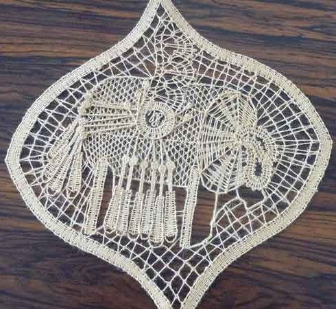 Bobbin Lace Pillow