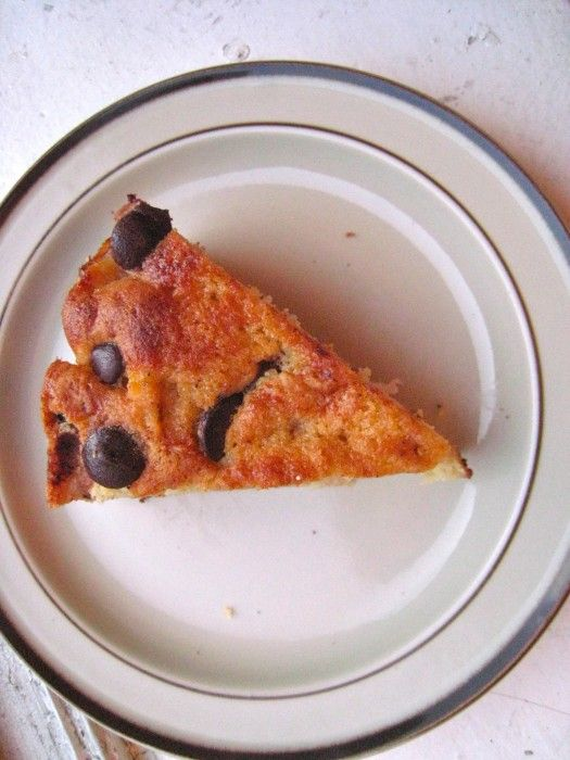Bittersweet Chocolate & Pear Cake | TheCornerKitchenBlog.com
