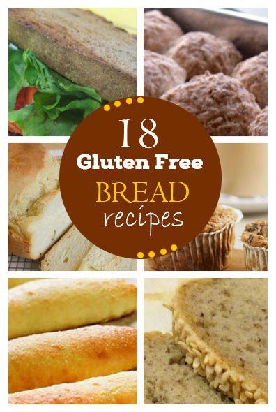 18 Delicious Gluten Free Bread Recipes