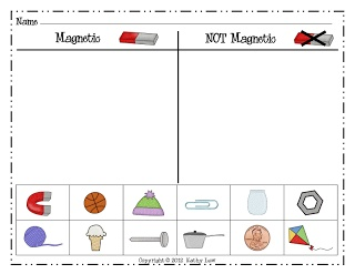PRINTABLE sheet on magnets | Science | Pinterest