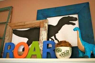 hate falafels: Elias' Dinosaur Birthday Party