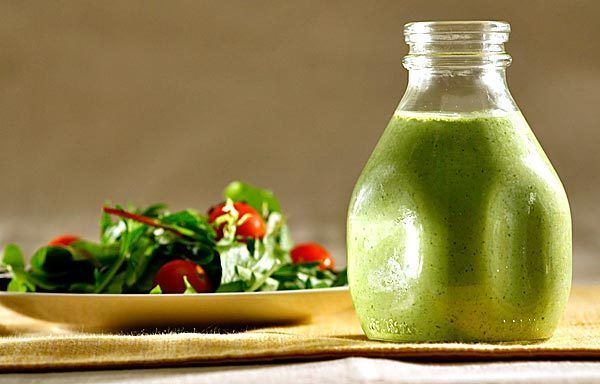 Green Goddess Dressing. It has just the right balance of tart and ...