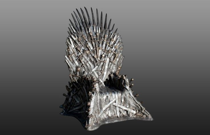 Lifesize Game Of Thrones Iron Throne Cool Novelty Stuff