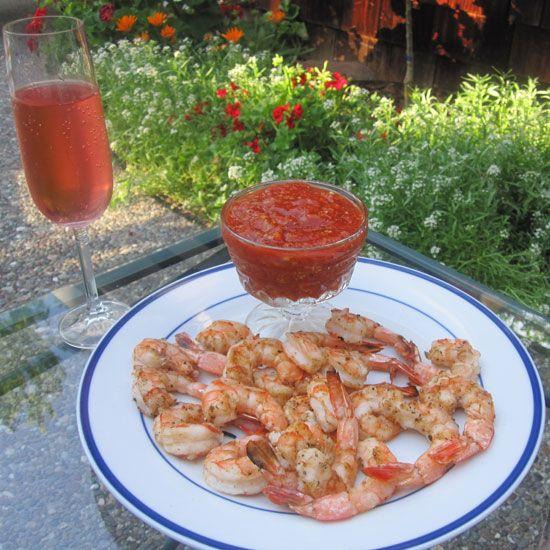 Killer App: Grilled Shrimp Cocktail - www.yumsugar.com