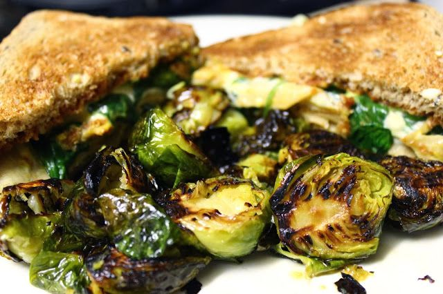 Lemon-Thyme Roasted Brussels Sprouts | Brain Cleanse | Pinterest