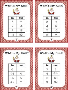 """What's the Rule? Make a """"number rules"""" worksheet with this ..."""