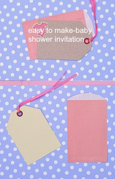homemade baby shower invitations homemade cards pinterest