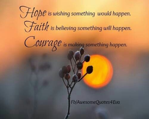 Pinned by Desir  233 e SeymourQuotes On Courage And Faith