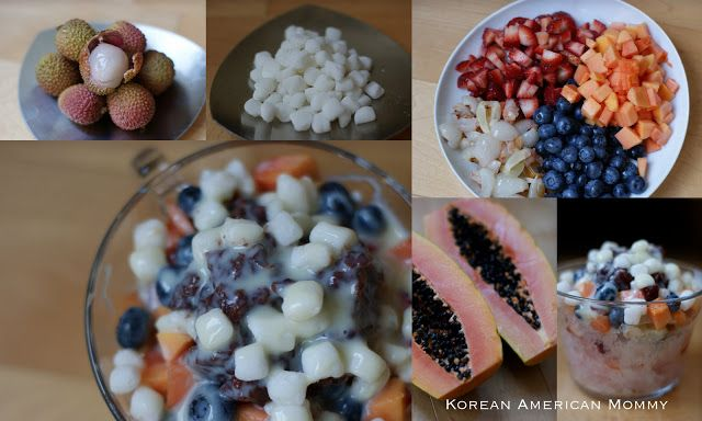 ... Mommy: Taiwanese Shaved Ice With Fresh Fruit, Red Beans & Mochi