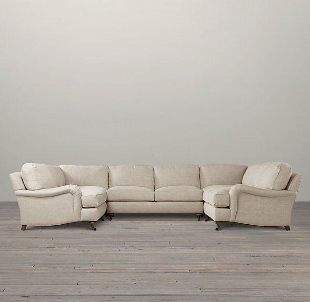 Restoration hardware u shaped sofa home decor pinterest for U shaped sectional sofa restoration hardware