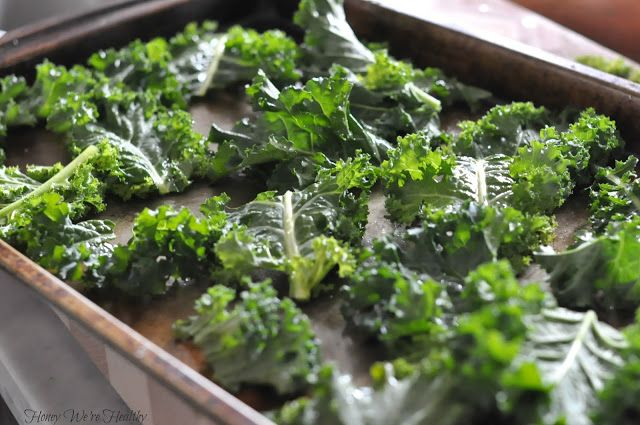 Baked Kale Chips | Veggie Yum Yums | Pinterest