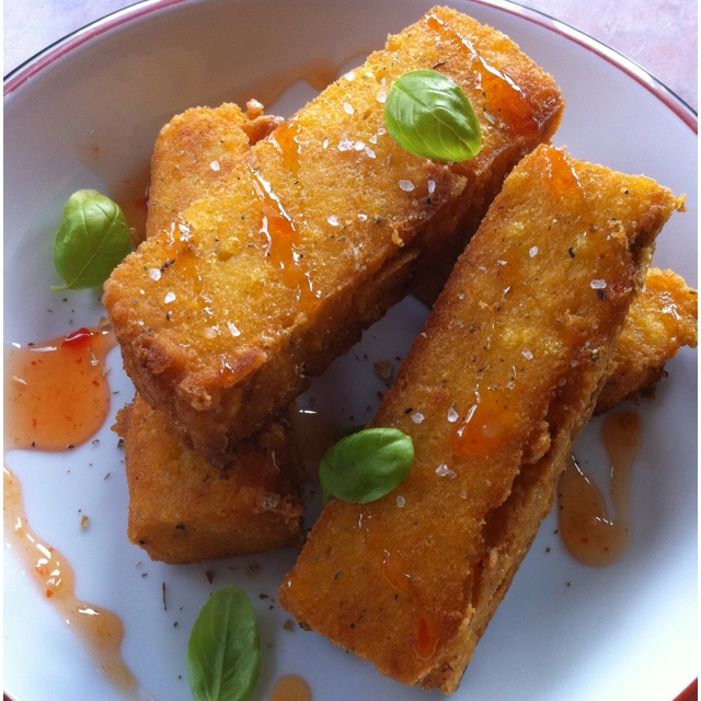 herbed polenta fries foodnouveau com herbed polenta fries recipes