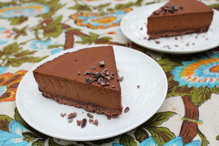 Double Dark Chocolate Paleo Tart - Paleo Dessert Recipe - Chocolate ...