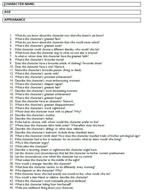 100 Random Questions Tag
