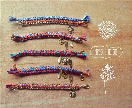 Braided bracelets by MissIndigo - Media - Jewelry Making Daily