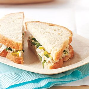 ... you make this Pickled Tuna-Salad Sandwiches recipe from Real Simple