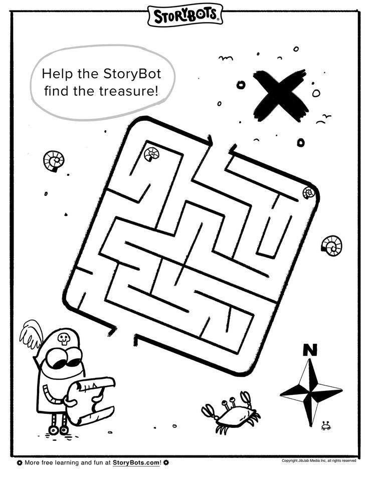 Summer Maze | Summer Activity Sheets | Pinterest