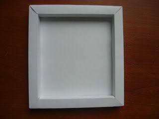 Бумажная рамка