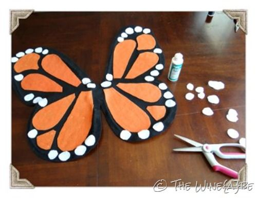 diy butterfly halloween costumes