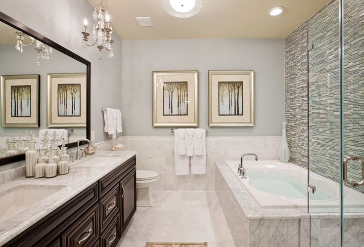 Toll Brothers The Bristol Master Bath Creative Design Pinterest